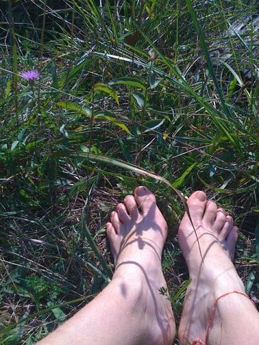 Two Feet - iPhone photo