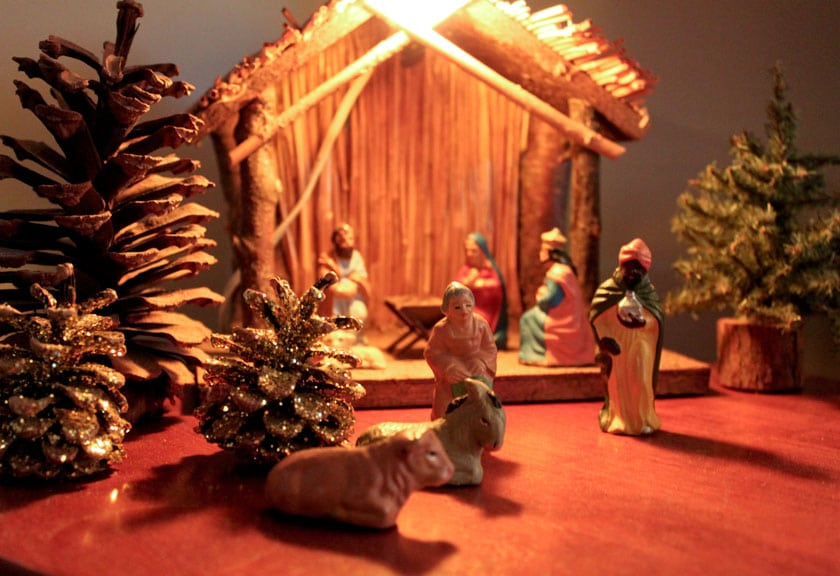 Nativity - photo by Christine Marsh