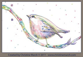 Bird by Christine Marsh