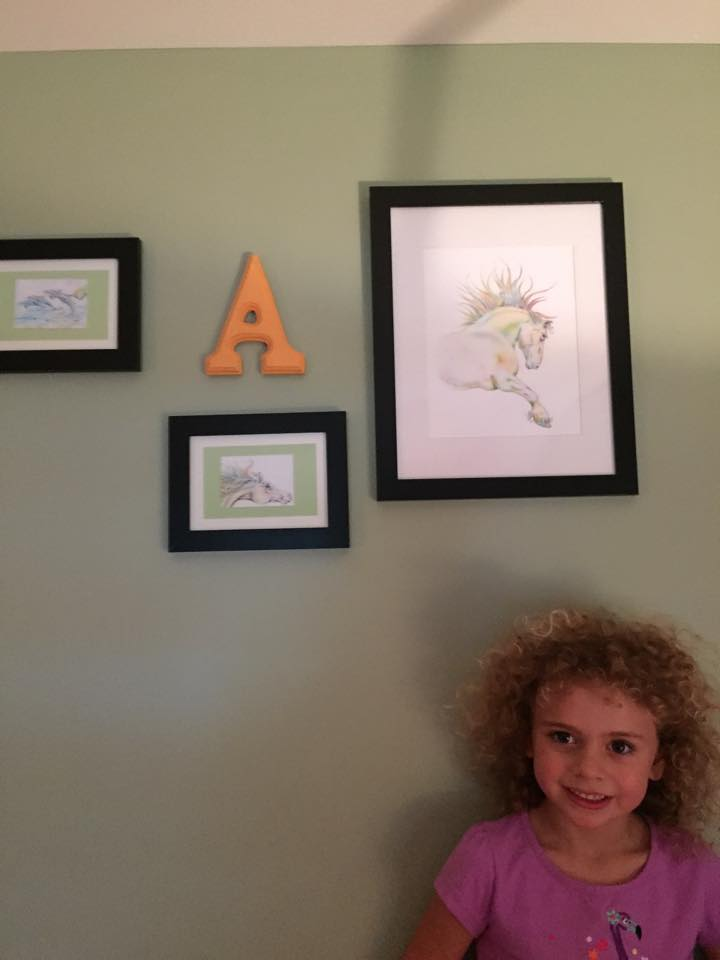 Anya and her art