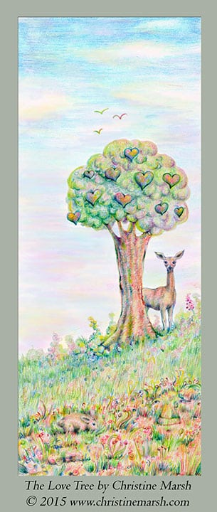 The Love Tree by Christine Marsh