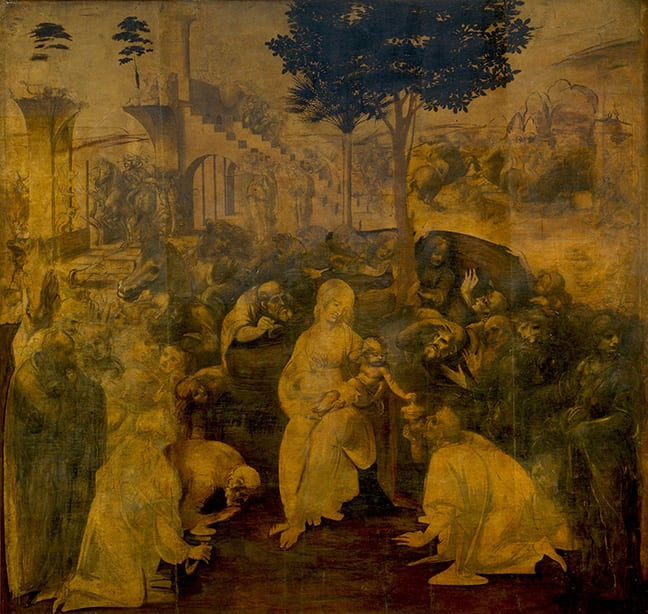 Leonardo_da_Vinci-Adoration_of-the_Magi