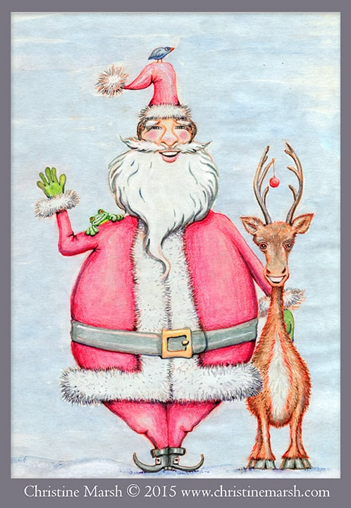 Santa-and-Friends-by-Christine-Marsh