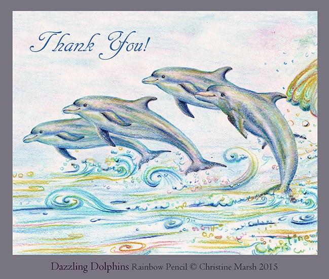Christine-Marsh_Dazzling-Dolphins_Thank-you