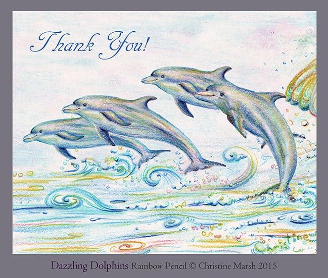 Christine-Marsh_Dazzling-Dolphins_Thank-you