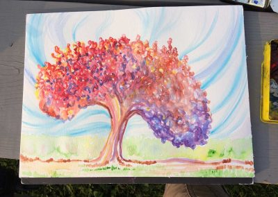 Healing Tree 1 (Watercolor)