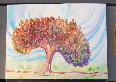 Healing Tree 2 (Watercolor)