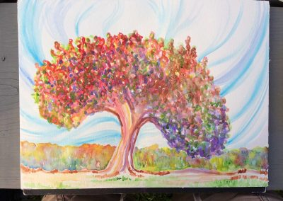 Healing Tree 3 (Watercolor)