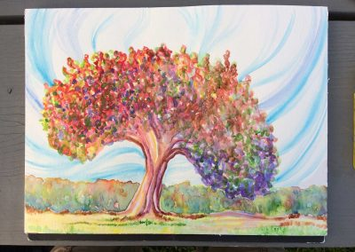 Healing Tree 4 (Watercolor)