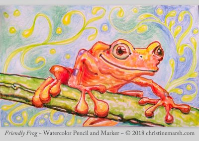 Friendly-Frog-by-Christine-Marsh-jpg