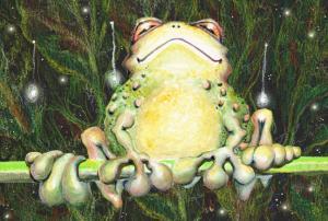 Frog Sit